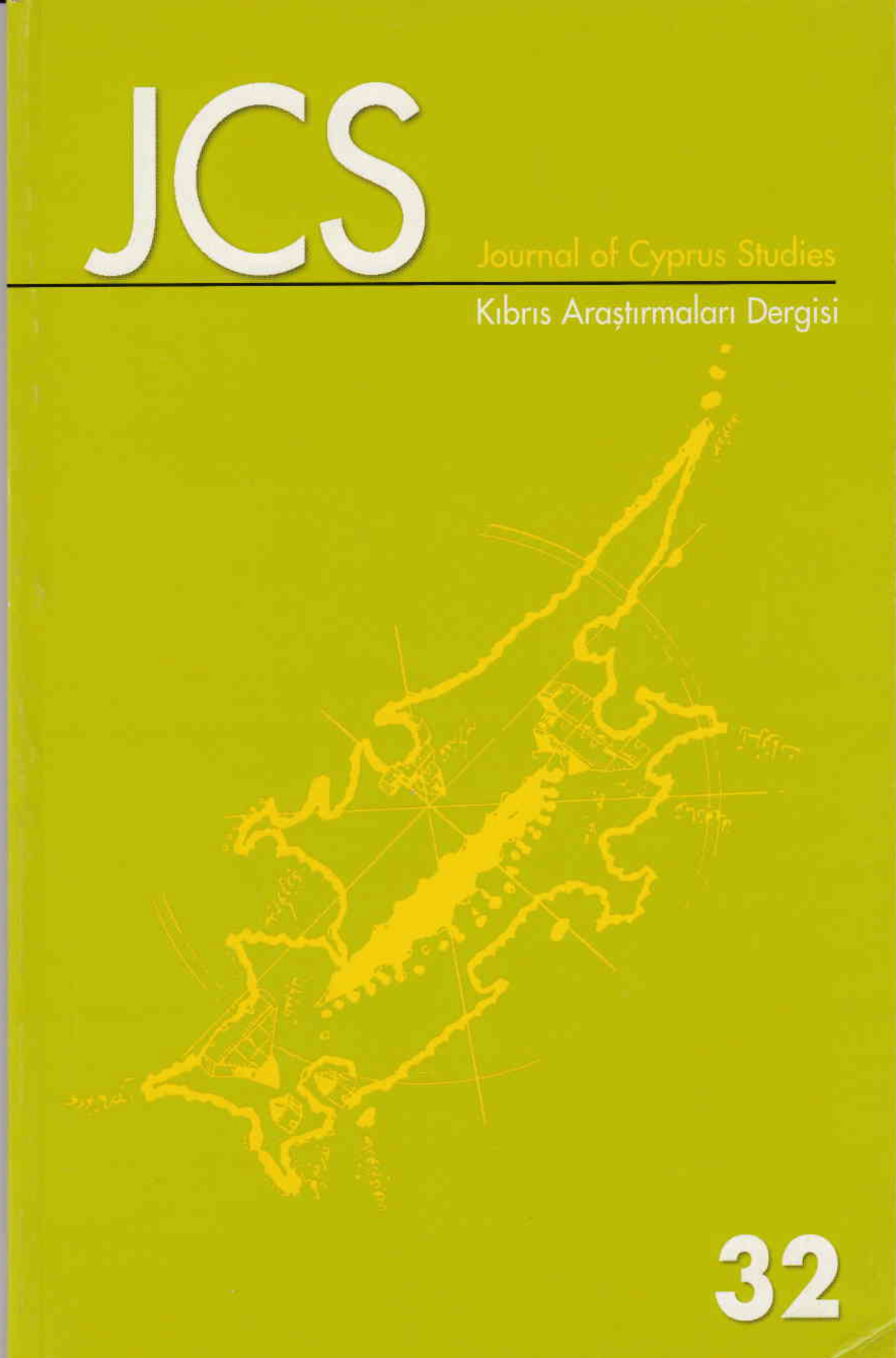 View Vol. 13 No. 32 (2007): Journal of Cyprus Studies