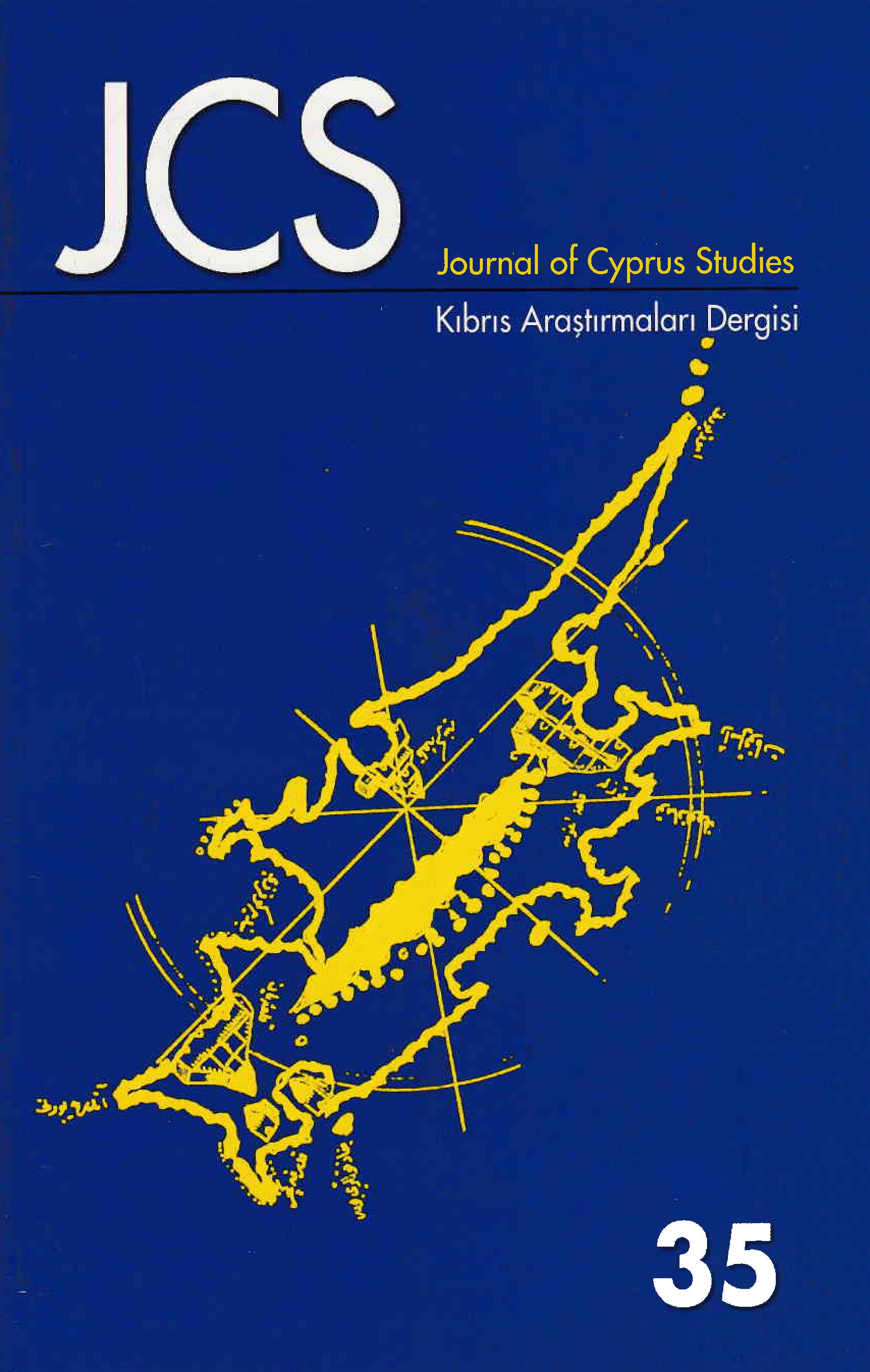 View Vol. 14 No. 35 (2008): Journal of Cyprus Studies