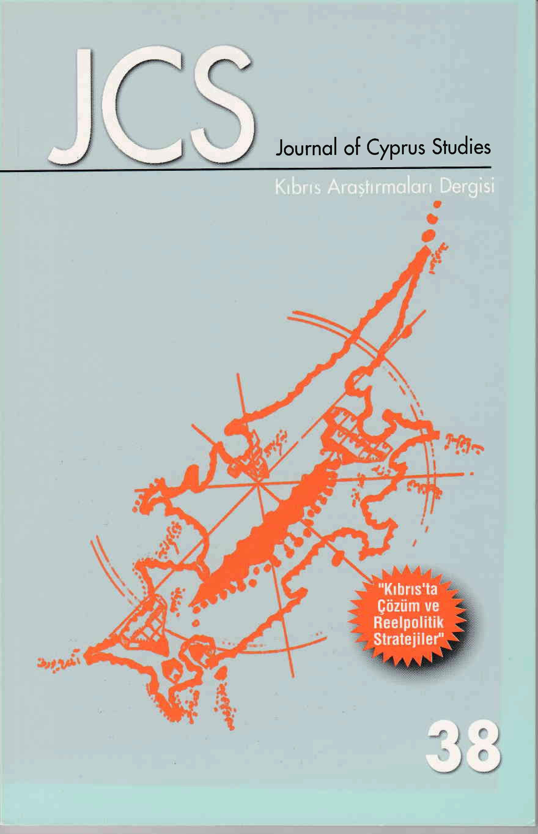 View Vol. 16 No. 38 (2010): Journal of Cyprus Studies