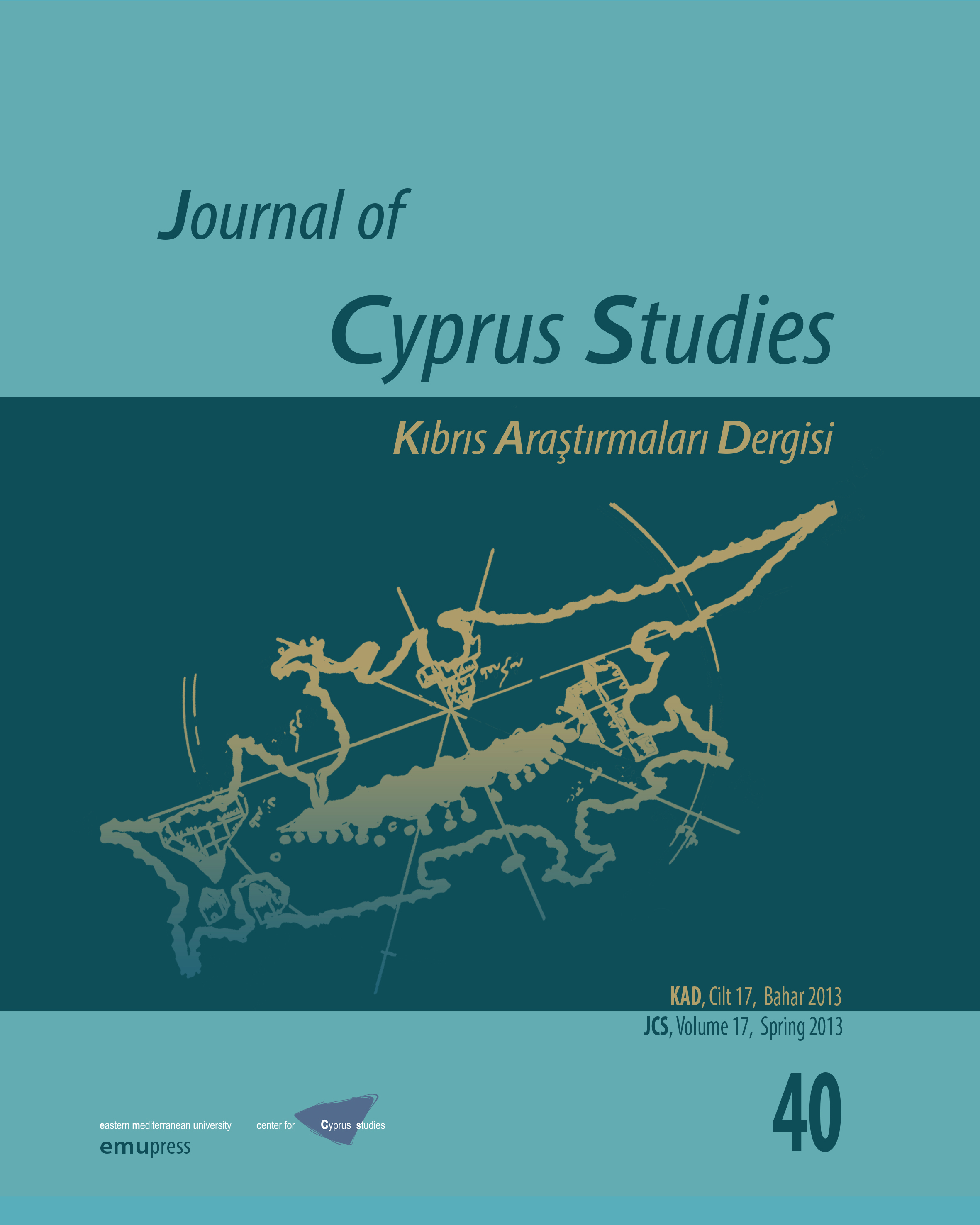 View Vol. 17 No. 40 (2013): Journal of Cyprus Studies